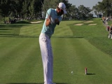 Dustin Johnson swing video from SD Open