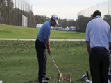 Joe Durant swing video from SD Open