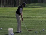 Brad Faxon swing video from NT LA Open
