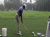 Retief Goosen swing video #2 from NT LA Open