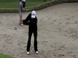 Nathan Green bunker swing video from NT LA Open