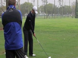 Justin Rose swing video from NT LA Open