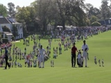 2011 Masters Hole #1 at the top of the hill for 2nd shot