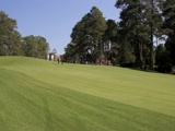 2011 Masters the walk down the hill on #2